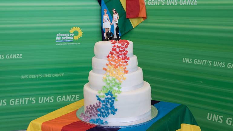 Lesben Und Schwule Durfen Heiraten Bundestagsfraktion Bundnis 90
